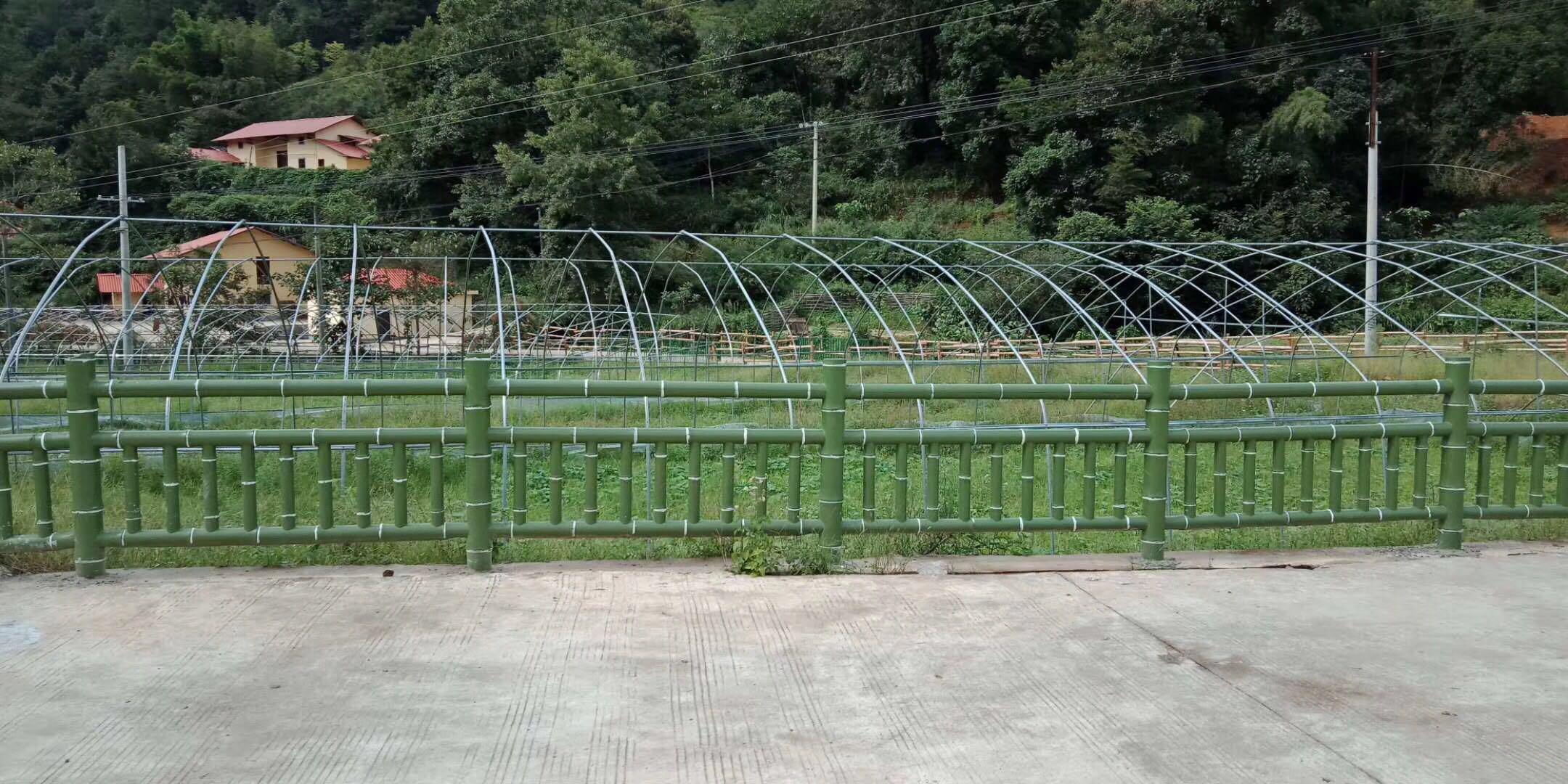 赣县区长洛乡仿竹护栏