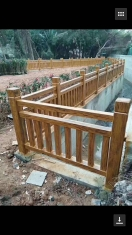 赣州新农村建设仿木护栏 赣州生产厂家