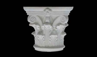 优质水泥罗马柱头