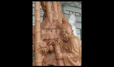 景观泥塑雕塑局部