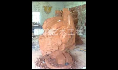 动漫泥塑雕塑