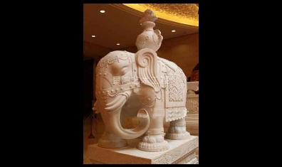 佛教大象雕塑