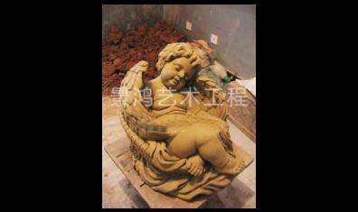 欧式爱神泥塑雕塑