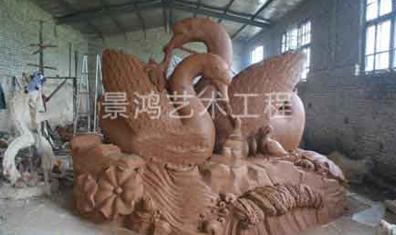 水景泥塑雕塑