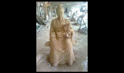 泥塑人像雕塑