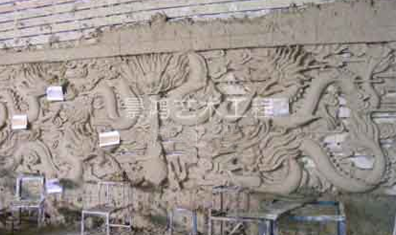 浮雕泥塑制作施工