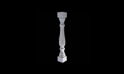 花瓶柱扶手