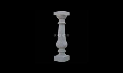 花瓶柱图片