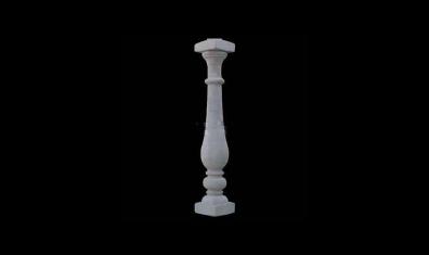 圆柱花瓶柱