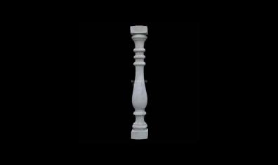 古朴典雅花瓶柱