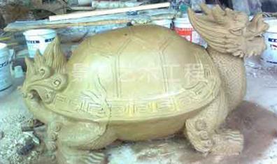 韶关龟形雕塑