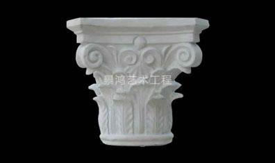 grc水泥欧式构件柱头风格