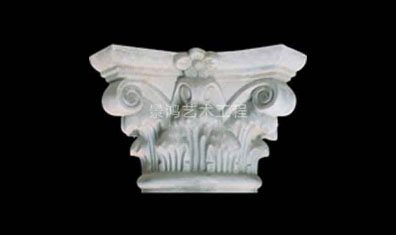 grc水泥欧式构件建筑罗马柱头