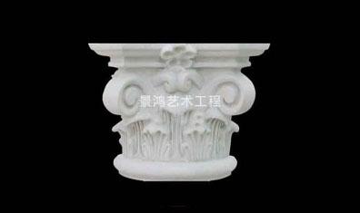专业生产grc水泥欧式构件柱头