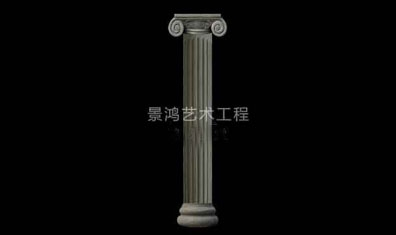 grc欧式构件玻璃钢罗马柱