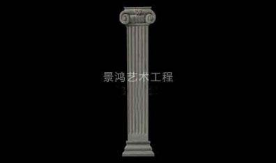 grc水泥欧式构件线条型罗马柱
